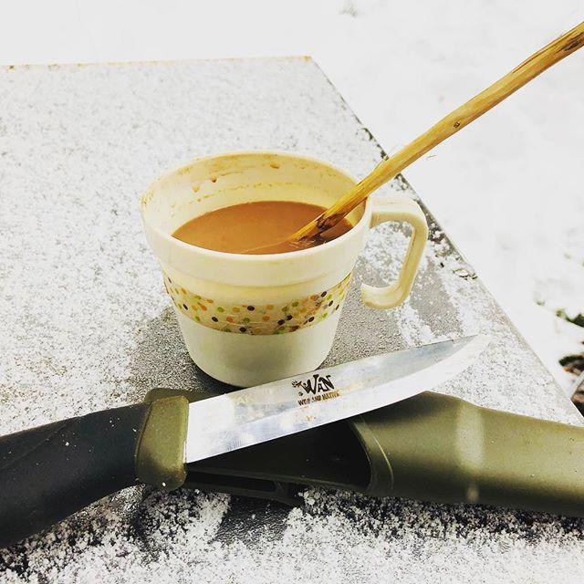 #松本スタイル こんな素敵なマドラーが、WANマーク入りのモーラナイフを使えば簡単にできちゃう!?