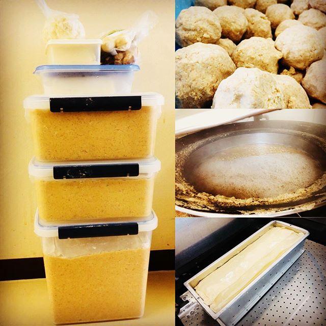 #松本スタイル 年に一度、みんなで集まって味噌作り。大豆ってお米以上に日本の食を作っている気がします。