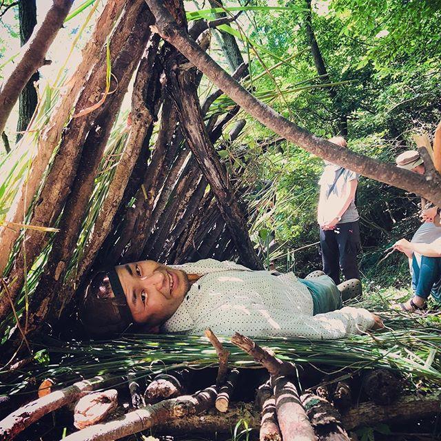 森は必要なものを与えてくれてる。それに気付くか否か。#WAN1 #シェルター