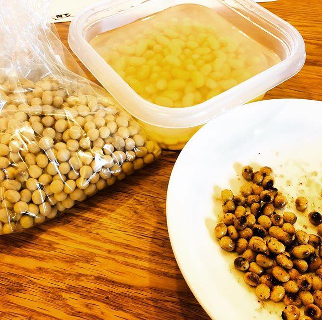 乾燥大豆の食べ方を研究中〜
