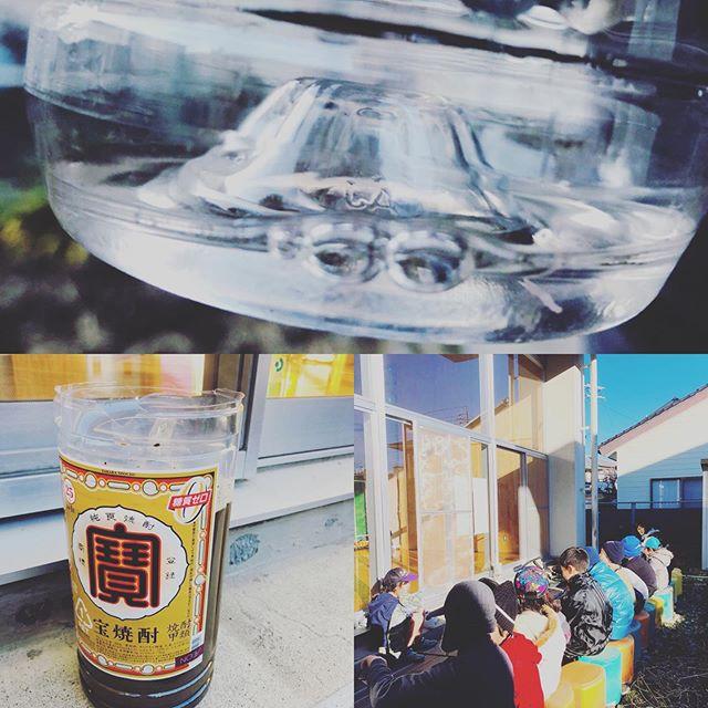 今日の鎌田児童センターサバイバル班は、宝焼酎糖質ゼロ、から泥水ゼロの濾過器を作りました。#濾過器 #浄水器 #ブッシュクラフト #サバイバル #松本市 #長野県 #水#森は自然の浄水器