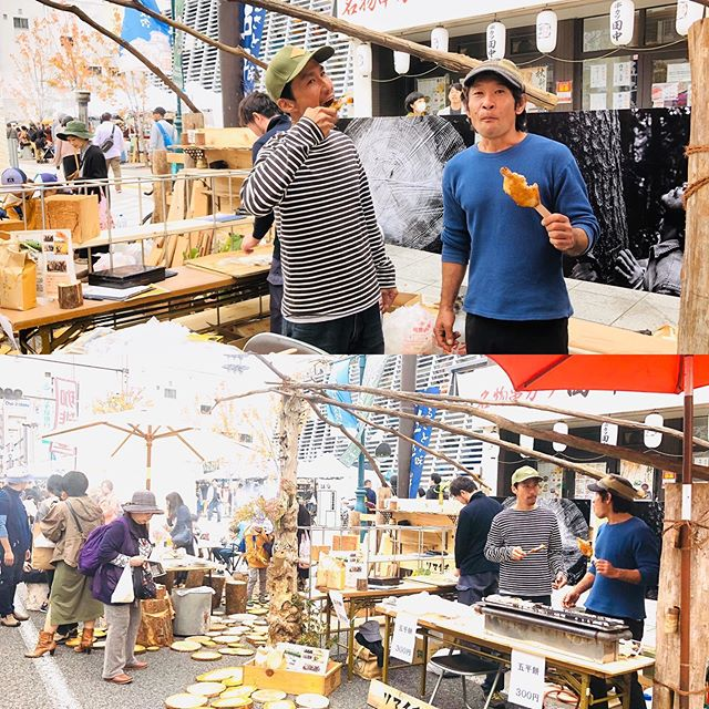 #柳沢林業 さん、#五平餅 売ってるお洒落な林業屋さんです。#松本市民祭 #2019